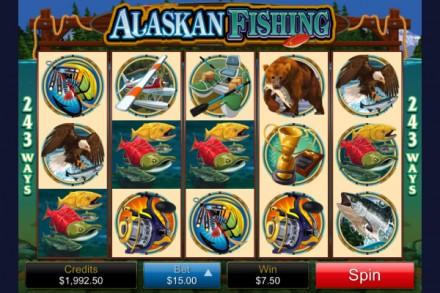 Alaskan Fishing by Microgaming has 243 ways to win