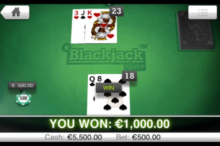 Blackjack Touch - NetEnt