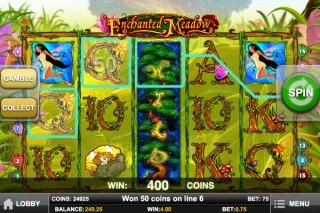 Enchanted Meadow Mobile Slot - Play'n Go