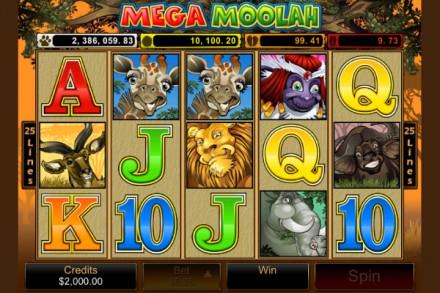 Mega Moolah mobile slot recently hit 3.7 Million with it's Progressive Jackpot