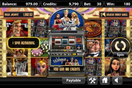 Mr Vegas in Game Mini Slot Machine