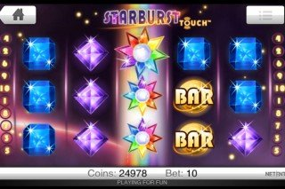 Starburst Touch Mobile Slot - NetEnt
