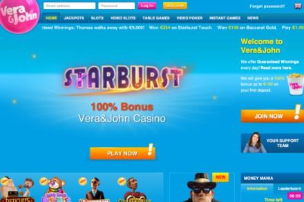 Vera&John Lobby Online Tablet Version