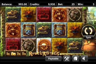 Rook's Revenge Mobile Slot Screenshot