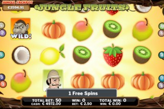 Jungle Fruits Mobile Slot by OMI Gaming