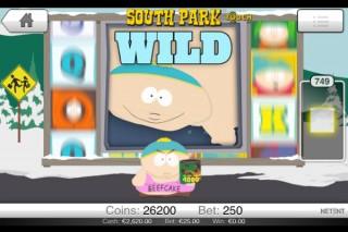 South Park Mobile Slot Screenshot by NetEnt