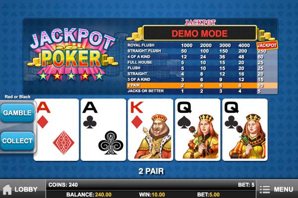 Poker jackpot