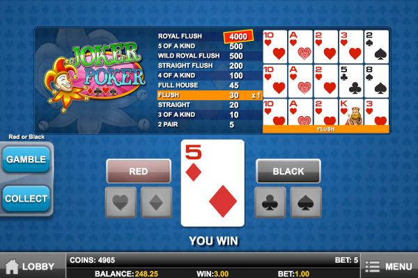 casino mobile online poker joker