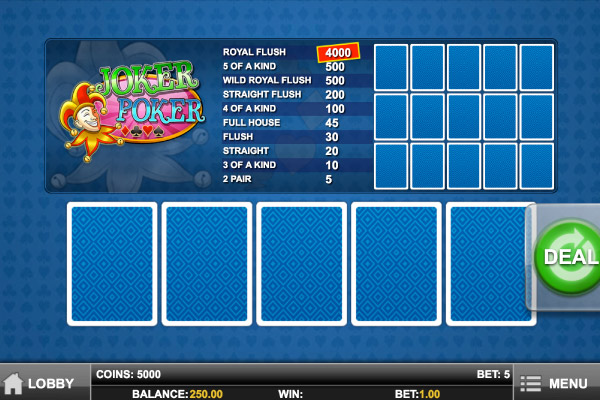 casino mobile online poker joker