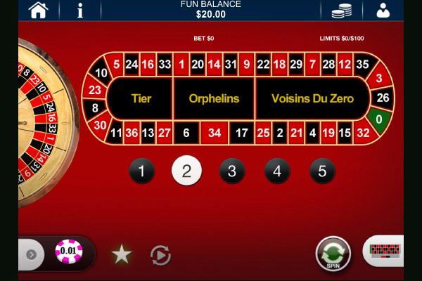 european roulette playtech
