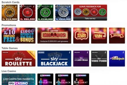 www sky vegas com mobile casino games
