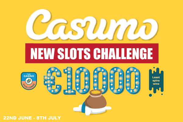 New Casino Challenge - Casumo Blog