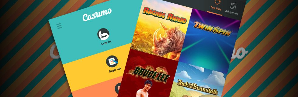 Find the best casino games now at Casumo