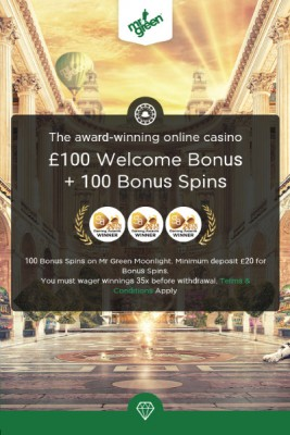 mr green mobile casino no deposit bonus
