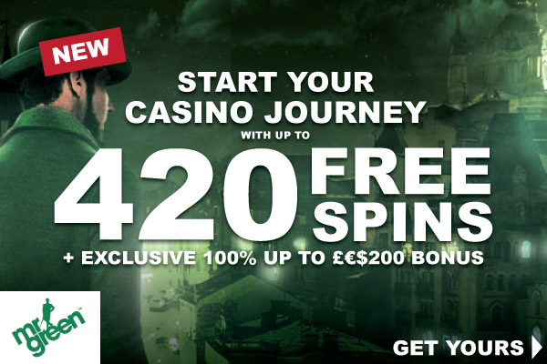 Mr Green Casino Review - Free Spins For New Players!