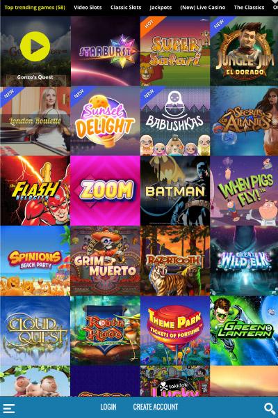Thrills Casino - Login to Thrills Casino