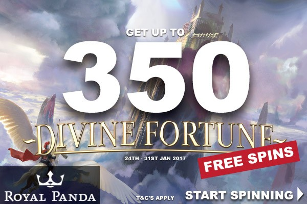 Get Your NetEnt Free Spins At Royal Panda This Week