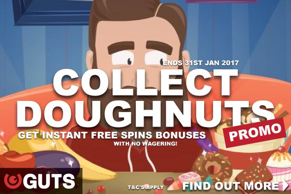 Get Your Guts Free Spins Instantly - All With No Wagering Required