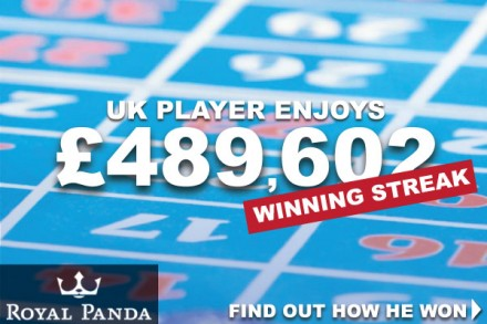 UK Roulette Player Wins Big At Royal Panda Casino
