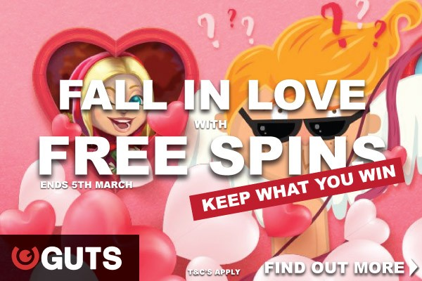 Get Your Guts Free Spins With No Wagering Today