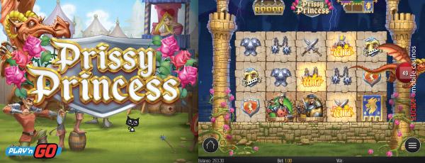 Prissy Princess slot - win the tournament at Casumo