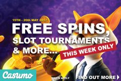 Get Your Casumo Mobile Casino Free Spins & Play Tournaments