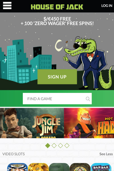 House Of Jack Mobile Casino Review Get 1000 Bonus 200 Free Spins