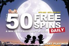 Get Daily Free Spins At LeoVegas Mobile Casino
