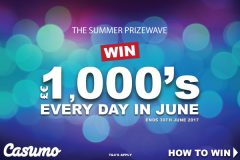 Win Thousands Every Day In Casumo Summer Prizewave