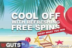 Get Your Guts Casino Free Spins Bonuses This Summer