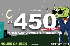 Your Big House Of Jack Mobile Casino Bonus