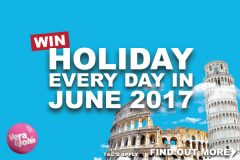 Win A European Holiday Every Day In June At VeraJohn