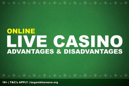 Pros & Cons of Playing Online Live Casino