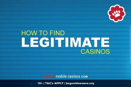 How To Find Legitimate Casinos Online