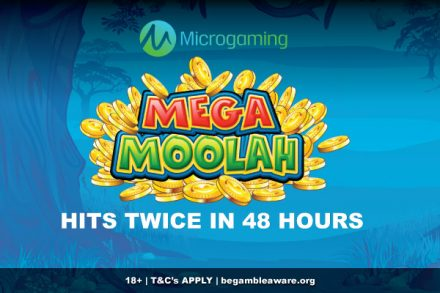 Microgaming Mega Moolah Slot Creates 2 New Winners In 48 Hours
