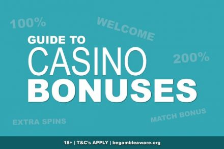 Guide To Casino Bonuses Online