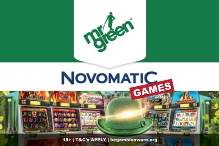Mr Green Casino Adds Novomatic Games
