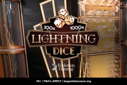 New Evolution Gaming Lightning Dice Game