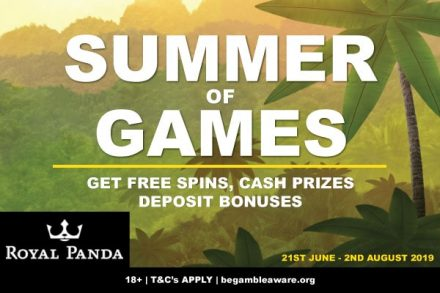 Royal Panda Casino Summer Of Games