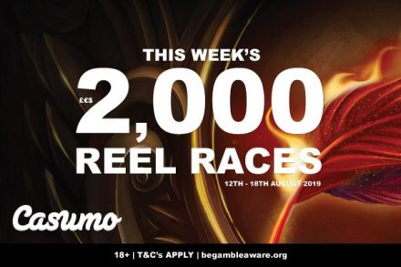 Win Up To 2k Every Night In Casumo Casino's Reel Races