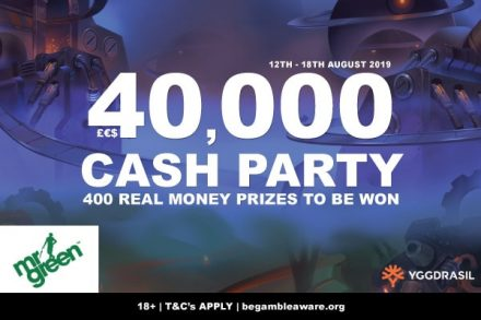 Mr Green Casino Cash Party Is Waiting For You To Join