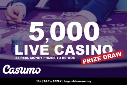 Play Live Casino At Casumo To Win Real Money Prizes