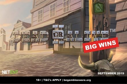NetEnt Dead Or Alive 2 Slot Big Wins