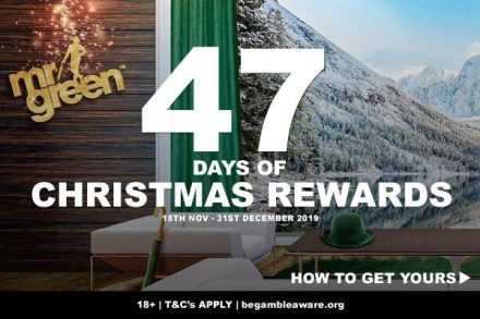 Get Your Daily Christmas Rewards At Mr Green Mobile Casino
