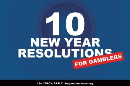 10 New Year Resolutions For Gamblers