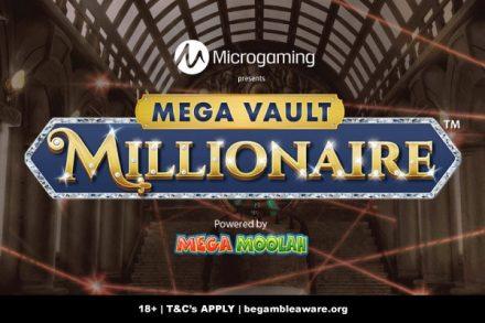 Microgaming Mega Vault Millionaire Jackpot Slot