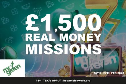 Mr Green Casino Real Money Missions