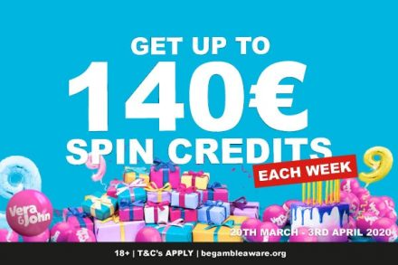 Get Your Vera&John Casino Spins Credits