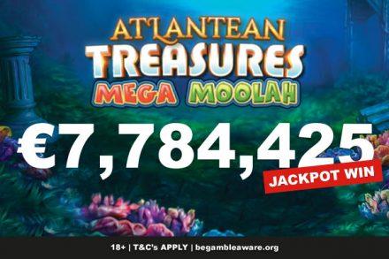 Atlantean Treasures Slot Jackpot Win