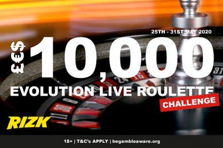 Rizk Casino Live Roulette Challenge - Win Real Money Prizes